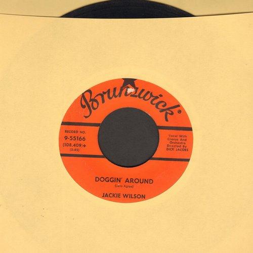 Wilson, Jackie - Doggin' Around/Night - VG7/ - 45 rpm Records
