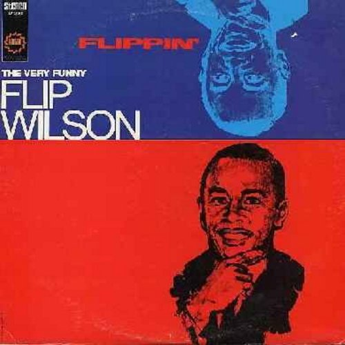 Wilson, Flip - Flippin' - The Very Best Comedy in the Best of Taste (vinyl STEREO LP record) - EX8/EX8 - LP Records
