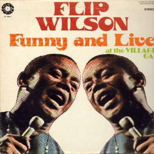 Wilson, Flip - Funny and Live at the Village Gate (Vinyl STEREO LP record) - NM9/VG7 - LP Records