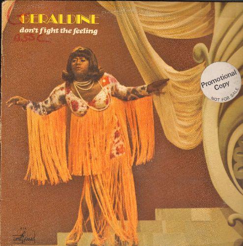 Wilson, Flip - Geraldine: Don't Fight The Feeling. More wild escapades with Geraldine Jones! (Vinyl LP record, DJ advance pressing) - EX8/VG6 - LP Records