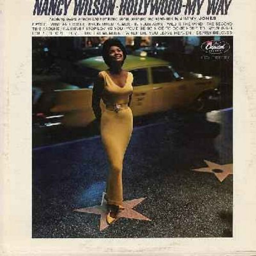 Wilson, Nancy - Hollywood - My Way: Secret Love, I'll Never Stop Loving You, Wild Is The Wind, Moon River, You'd Be So Nice To Come Home To (Vinyl MONO LP record) - NM9/EX8 - LP Records