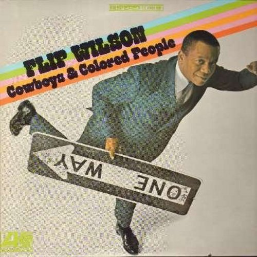 Wilson, Flip - Cowboys & Colored People - Another hilarious set of stand-up routines by one of America's best-loved 1960s comics (Vinyl STEREO LP record) - NM9/EX8 - LP Records