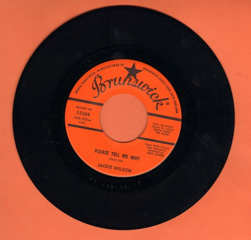 Wilson, Jackie - Please Tell Me Why/Your One And Only Love (NICE condition!) - NM9/ - 45 rpm Records