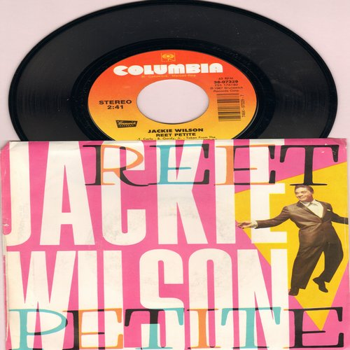 Wilson, Jackie - Reet Petite/You Better Know It (1987 issue of vintage recording, with picture sleeve) - M10/M10 - 45 rpm Records