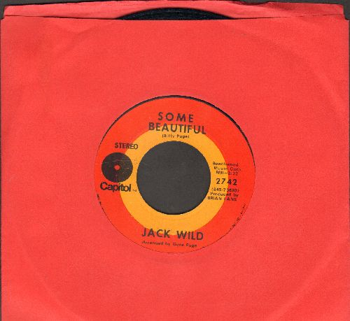 Wild, Jack - Some Beautiful/Picture Of You - NM9/ - 45 rpm Records