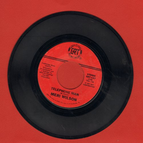 Wilson, Meri - Telephone Man/Itinerary - EX8/ - 45 rpm Records