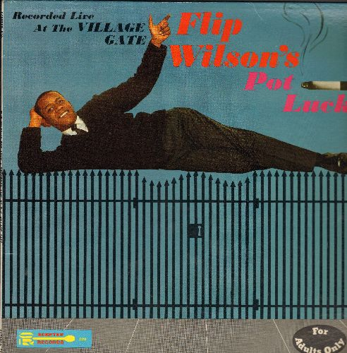 Wilson, Flip - Pot Luck: The King of 60s Comedy recorded live at The Village Gate in NYC. (Risque Humor) - NM9/EX8 - LP Records