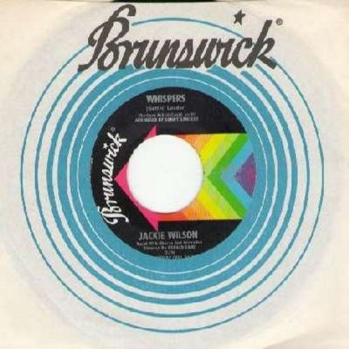 Wilson, Jackie - Whispers (Getting' Louder)/The Fairest Of Them All (with Brunswick company sleeve) - NM9/ - 45 rpm Records