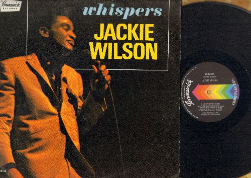 Wilson, Jackie - Whispers: Who Am I, (Too Much) Sweet Loving, Just Be Sincere (Whipsers (Getting' Louder), Tears Will Tell It All, The Fairest Of Them All (Vinyl STEREO LP record) - NM9/EX8 - LP Records