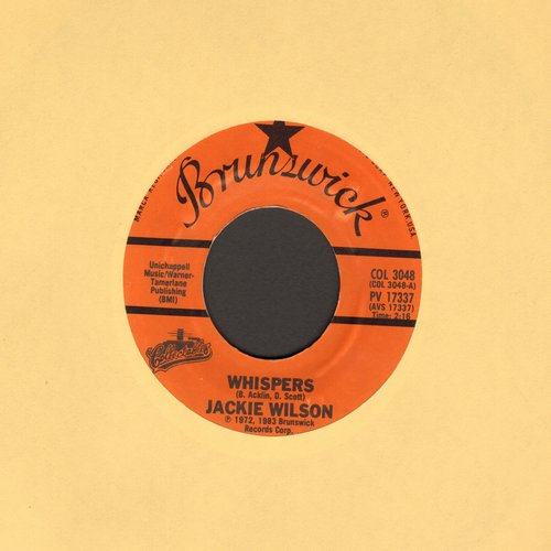 Wilson, Jackie - Whispers (Getting' Louder)/Night (authentic-looking re-issue) - M10/ - 45 rpm Records