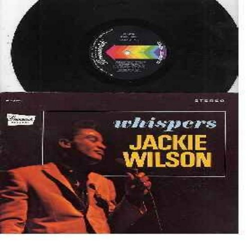 Wilson, Jackie - Whispers: Who Am I, (Too Much) Sweet Loving, Just Be Sincere (Whipsers (Getting' Louder), Tears Will Tell It All, The Fairest Of Them All (Vinyl STEREO LP record) - VG7/VG6 - LP Records
