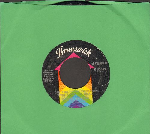 Wilson, Jackie - (I Can Feel Those Vibrations) This Love Is Real/Love Uprising - EX8/ - 45 rpm Records