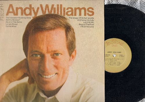 Williams, Andy - Andy Williams: Unchained Melody, Let It Be Me, Lonely Street, Hawaiian Wedding Song (vinyl STEREO LP record, re-issue of vintage recordings) - NM9/NM9 - LP Records