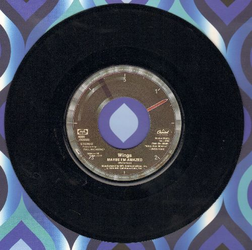 Wings - Maybe I'm Amazed/Soily - VG7/ - 45 rpm Records