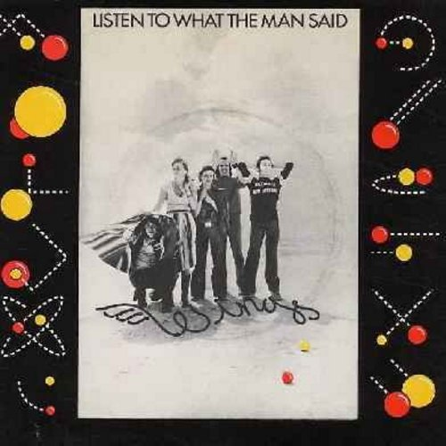 Wings - Listen To What The Man Said/Love In Song (with picture sleeve) - NM9/EX8 - 45 rpm Records