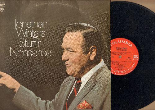 Winters, Jonathan - Stuff'n Nonsense - Classic comedy routinges including Maude Frickert, John Wayne Landing On The Moon (vinyl STEREO LP record) - NM9/VG7 - LP Records