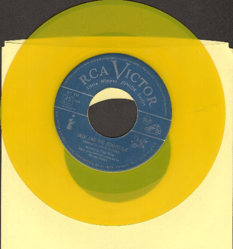 Wing, Paul - Jack And The Beanstalk/The Shoemaker And The Elves (RARE yellow vinyl pressing in Little Nipper Junior Series) - EX8/ - 45 rpm Records