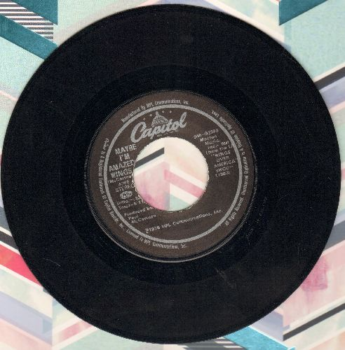 Wings - Maybe I'm Amazed/Soily - EX8/ - 45 rpm Records