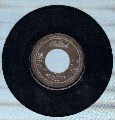 Wings - Mull Of Kintyre/Girls' School - EX8/ - 45 rpm Records