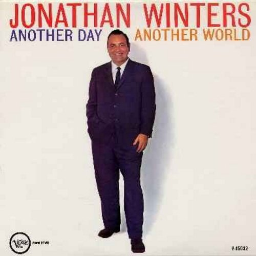 Winters, Jonathan - Another Day - Another World: Igor And The Monster, New Frontiers, Moon Map and Ivy Leager, My School Days and other hilarious comedy routines! (Vinyl MONO LP record) - EX8/VG7 - LP Records