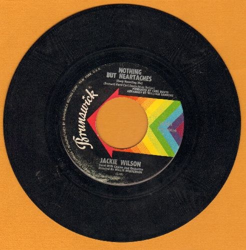 Wilson, Jackie - Nothing But Heartaches/I get The Sweet Feeling - EX8/ - 45 rpm Records