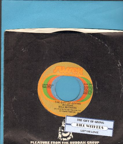 Withers, Bill - The Gift Of Giving/Let Us Love (with company sleeve and juke box label)) - NM9/ - 45 rpm Records