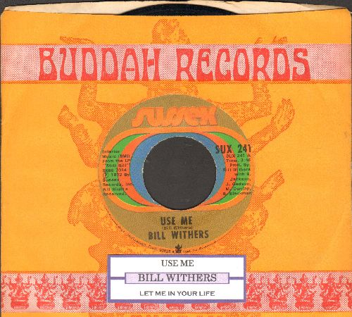 Withers, Bill - Use Me/Let Me In Your Life (with juke box label and company sleeve) - EX8/ - 45 rpm Records