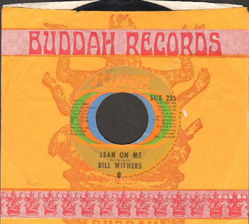 Withers, Bill - Lean On Me/Better Off Dead (with company sleeve) - VG7/ - 45 rpm Records