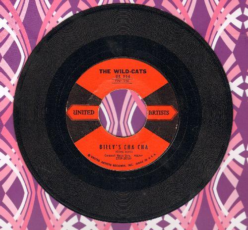 Wild-Cats - Gazachstahagen/Billy's Cha Cha  - NM9/ - 45 rpm Records