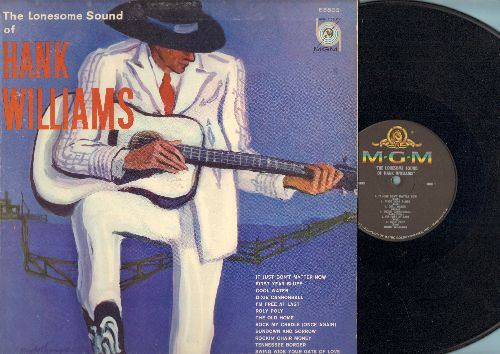 Williams, Hank - The Lonseome Sound Of Hank Williams: Cool Water, Roly Poly, Dixie Cannonball, First Year Blues (Vinyl MONO LP record) - NM9/EX8 - LP Records