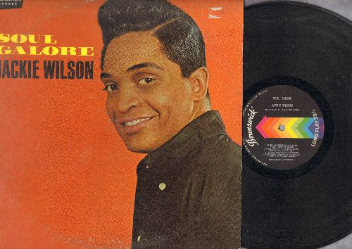 Wilson, Jackie - Soul Galore: So You Say You Wanna Dance, Brand New Thing (parts 1 + 2), What's Done In The Dark (vinyl MONO LP record, woc) - EX8/VG6 - LP Records