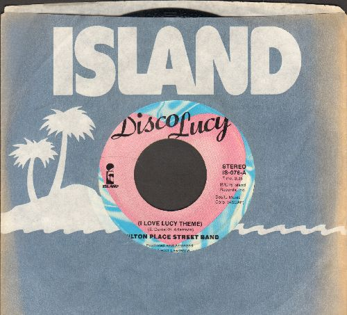 Wilton Place Street Band - I Love Lucy Theme/You Don't Even Know Who We Are (with Island company sleeve) - EX8/ - 45 rpm Records