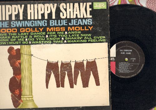 Swinging Blue Jeans - Hippy Hippy Shake: Good Golly Miss Molly, Shakin' All Over, Think Of Me, Angie (vinyl MONO LP record) - VG7/VG6 - LP Records