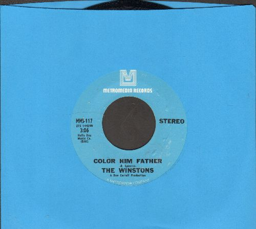 Winstons - Color Him Father/Amen, Brother  - NM9/ - 45 rpm Records