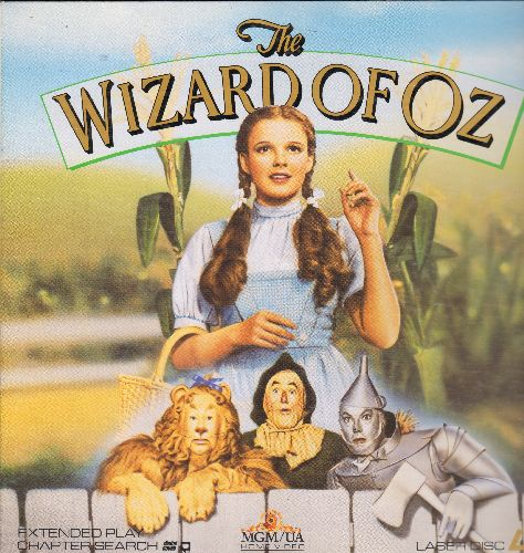 The Wizard Of Oz - The Wizard Of Oz - LASERDISC version of the 1939 MGM Classic starring Judy Garland (LASERDISC in gate-fold cover) - NM9/NM9 - LaserDiscs