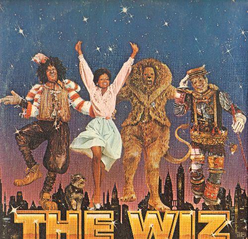 The Wiz - The Wiz - Original Motion Picture Soundtrack (2 vinyl LP record set, gate-fold cover, includes hit -Ease On Down The Road-) - NM9/EX8 - LP Records