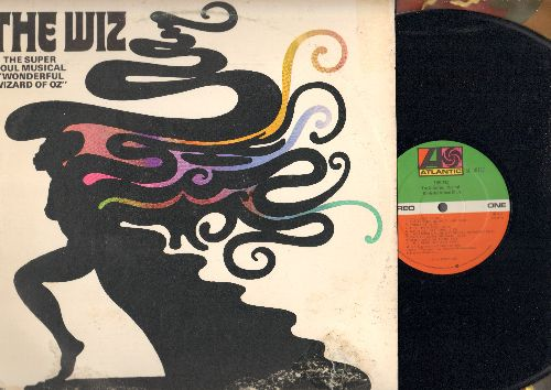 The Wiz - The Wiz - The Super Soul Musical Wonderful Wizard Of Oz (vinyl STEREO LP record) - NM9/VG7 - LP Records