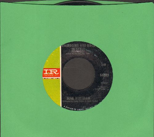 Whitman, Slim - Rainbows Are Back In Style/How Could I Not Love You  - NM9/ - 45 rpm Records