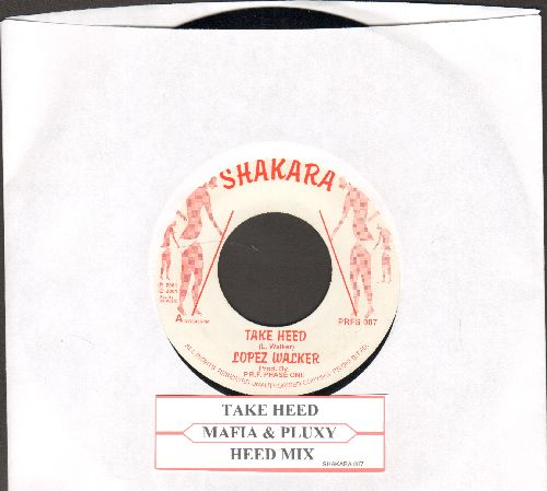 Walker, Joseph - Take Heed/Heed Mix - M10/ - 45 rpm Records