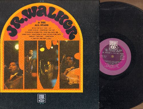 Walker, Jr. & The All Stars - Jr. Walker & The All Stars LIVE: Hip City, Sweet Soul, Come See About Me, Home Cookin' (Vinyl STEREO LP record) - EX8/EX8 - LP Records