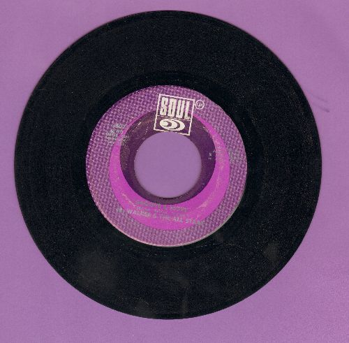 Walker, Jr. & The All Stars - Groove & Move/Do You See My Love (For You Grooving)  - EX8/ - 45 rpm Records
