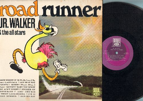 Walker, Jr. & The All Stars - Road Runner: How Sweet It Is (To Be Loved By You), Money (That's What I Want), Pucker Up Buttercup, (I'm A) Road Runner (Vinyl MONO LP record) - VG7/EX8 - LP Records