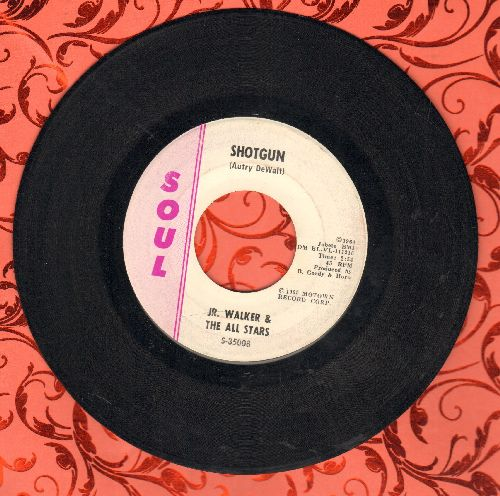 Walker, Jr. & The All Stars - Shotgun/Hot Cha - EX8/ - 45 rpm Records