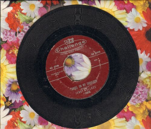 Wallace, Jerry - Angel On My Shoulder/There She Goes  - VG7/ - 45 rpm Records