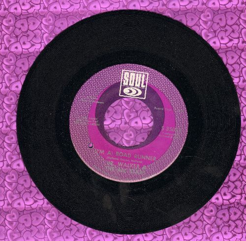 Walker, Jr. & The All Stars - (I'm A) Road Runner/Shoot Your Shot (bb) - EX8/ - 45 rpm Records