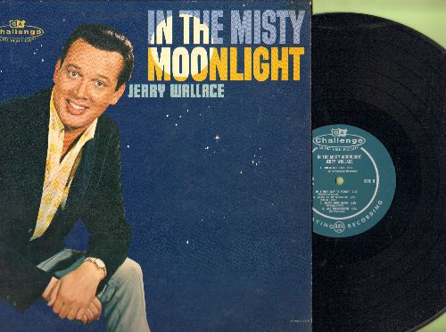 Wallace, Jerry - In The Misty Moonlight: Just Walkin' In The Rain, You'll Never Know, Angel On My Shoulder, Am I That Easy To Forget? (Vinyl MONO LP record, NICE condition!) - NM9/NM9 - LP Records