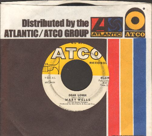 Wells, Mary - Dear Lover/Can't You See (You're Losing Me) (with company sleeve) - VG7/ - 45 rpm Records