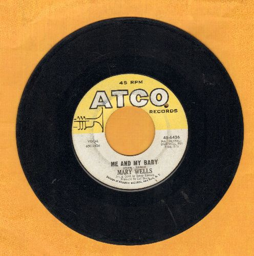 Wells, Mary - Me And My Baby/Fancy Free (bb) - VG6/ - 45 rpm Records