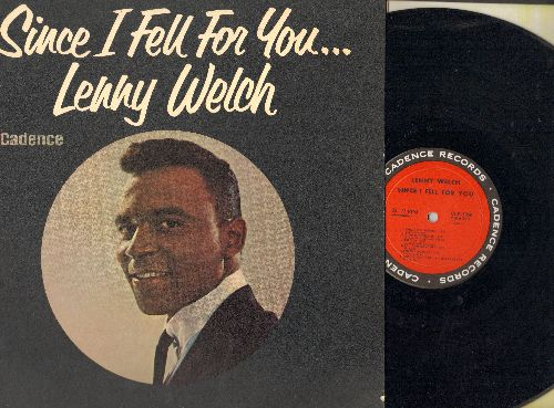 Welch, Lenny - Since I Fell For You: A Taste Of Honey, You Can Have Her, You Don't Know Me, Stranger In Paradise, I'm In The Mood For Love, Are You Sincere (Vinyl MONO LP record) - NM9/EX8 - LP Records