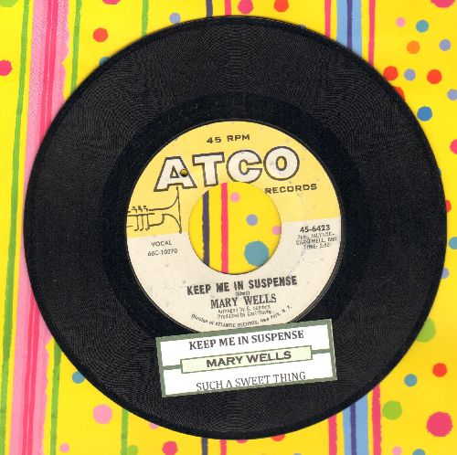 Wells, Mary - Keep Me In Suspense/Such A Sweet Thing (with juke box label) (bb) - NM9/ - 45 rpm Records